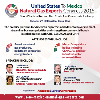 eagle ford natural gas to mexico event